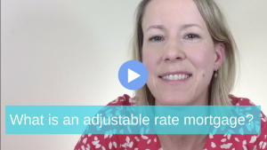 What is an adjustable rate mortgage
