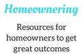 Homeownering Mobile Logo