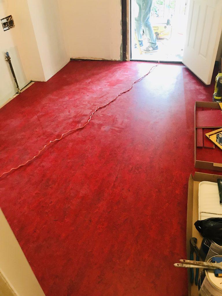 kitchen renovation flooring
