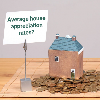 average house appreciation rate