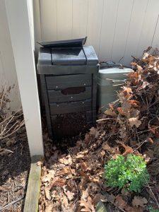 open bottom compost bin
