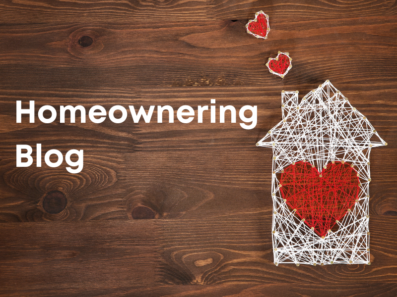 Homeownering blog