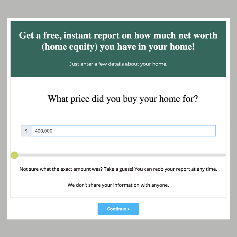 instant equity report