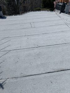 new residential roof